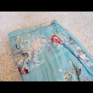 Anthropologie Skirts - Anthropologie NWT floral printed embellished skirt